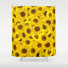 Lots of sunflowers Shower Curtain