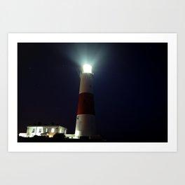 Light on the Coast Art Print