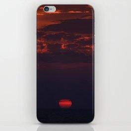 Dusk on the Atlantic Ocean iPhone Skin