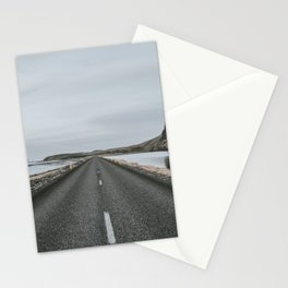 Empty Road - A Love Story Stationery Cards