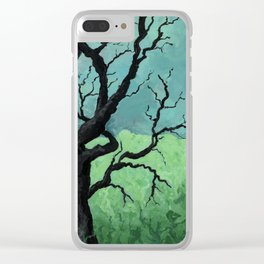 there's no going back Clear iPhone Case
