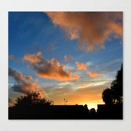 Skys Canvas Print