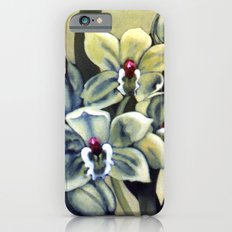 Green Orchids iPhone 6s Slim Case