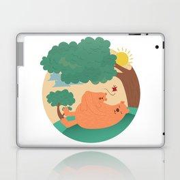 bear-ther and daughter-ooo nina bobo Laptop & iPad Skin