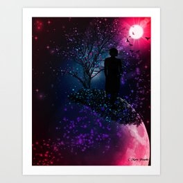 """""""Other Worlds"""" by Marie Plourde Art Print"""
