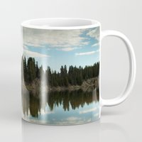 country Mugs featuring Country  by Julia Lake Art Designs