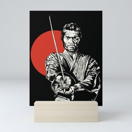 The Samurai Mini Art Print