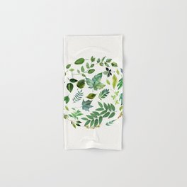 Circle of Leaves Hand & Bath Towel