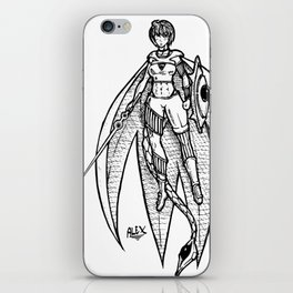 Zhuu-Arii iPhone Skin