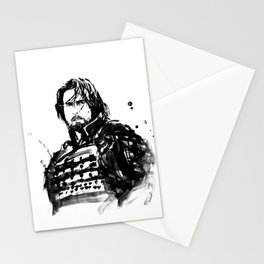 the last samurai Stationery Cards