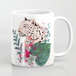 Leopard in the jungle. Coffee Mug