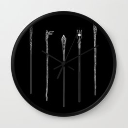 Staff of the Istari Wall Clock