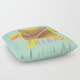 Thunder Thighs Floor Pillow