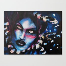 Sea Snake Gaze Canvas Print