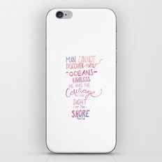 discover new oceans gradiant iPhone & iPod Skin