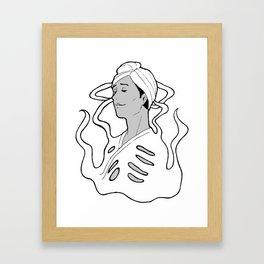Goretober #28 - Irony Framed Art Print