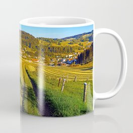 Path down to the village Coffee Mug