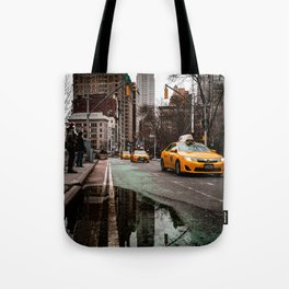 23rd Street Puddles Tote Bag