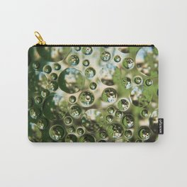 Air bubbles in a glass texture Carry-All Pouch