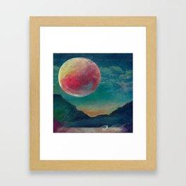 On The Nature Of Moonlight Framed Art Print