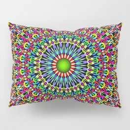 Happy Garden Mandala Pillow Sham