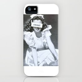 Sweet Norma Jeane iPhone Case