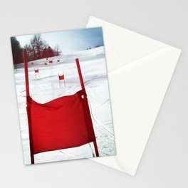 Racing Gates Stationery Cards