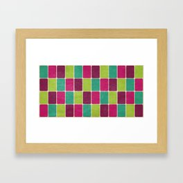Soda Pop Scales Framed Art Print