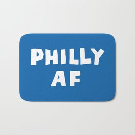 Philly AF (Blue) Bath Mat