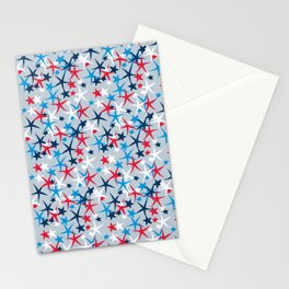 4th of July Stars Stationery Cards