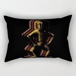 Ancient Spaceman Rectangular Pillow