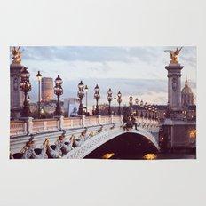 Pont Alexandre III Paris. Rug