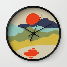 Mi Isla 2 Wall Clock