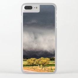 Tornado Day - Storm Touches Down in Northwest Oklahoma Clear iPhone Case