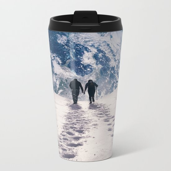 Pale Blue Dot Metal Travel Mug