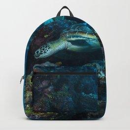 Green Sea Turtle on the Great Garrier Reef Backpack
