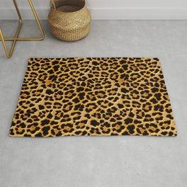 Royal Leopard Pattern Rug