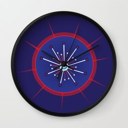 Radiolarian 5 Wall Clock