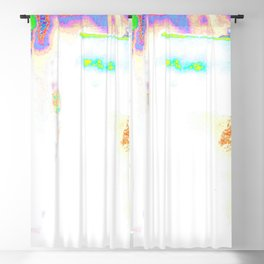 Colorful Hot Planet, Global Warming Blackout Curtain