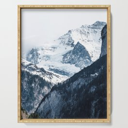 ARTIC MOUNTAINS Serving Tray