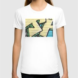 Urban Street Art Collection in Yellow T-shirt