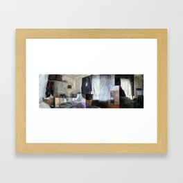 My Humble Domicile In Panorama Framed Art Print
