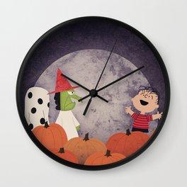 The Great Pumpkin Wall Clock
