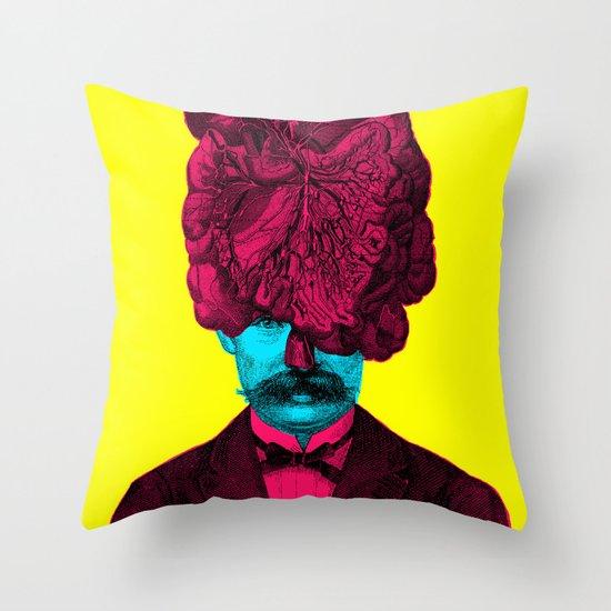 Mastermind II Throw Pillow