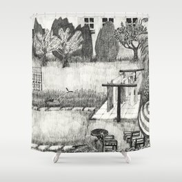 Laundry Time Shower Curtain
