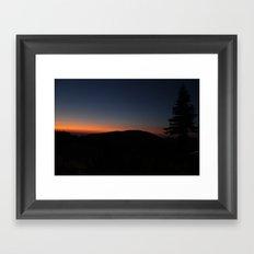 Scene Framed Art Print