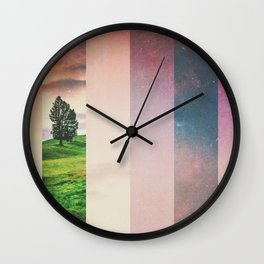 Fractions A61 Wall Clock