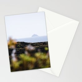 Volcanic landscape of Lanzarote 2- travel photography Stationery Cards