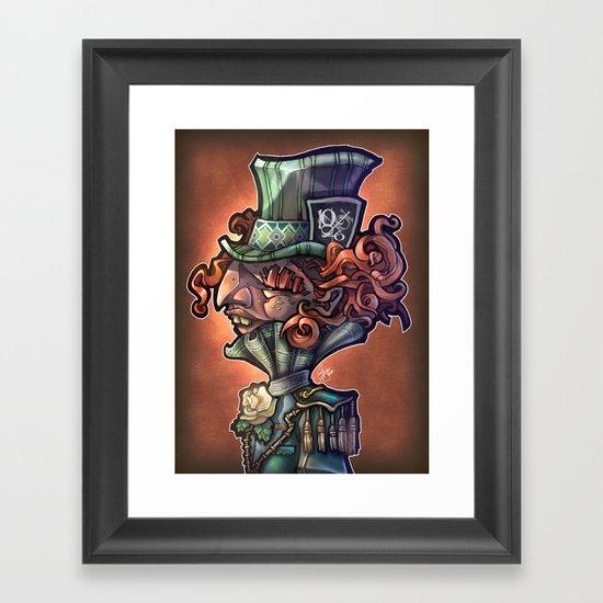 Mad Hatter Framed Art Print