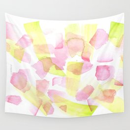 180527 Watercolour Abstract 20  | Watercolor Brush Strokes Wall Tapestry